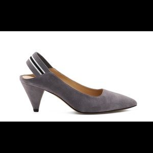 Brand New Botkier Sz 5 Grey Cobble Hill Slingback